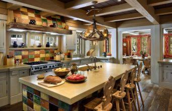 Кухня в стиле шале: атмосфера уюта и изысканности