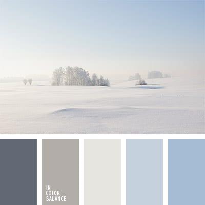 Голубой и серый