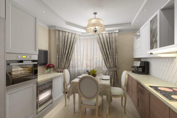 Кухня в стиле современная классика