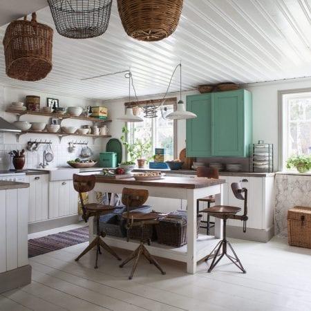 Кухня в стиле шебби-шик