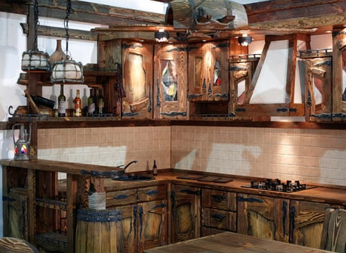 Дизайн кухни под старину – создаем оригинальный интерьер