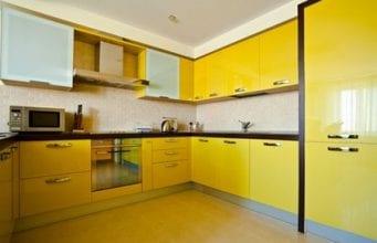 Кухонные пластиковые фасады