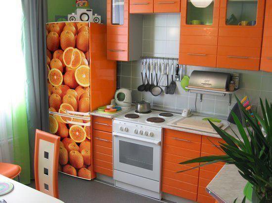 Даже малогабаритную кухню можно изменить до неузнаваемости