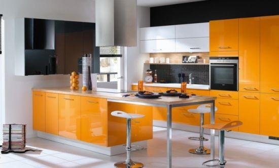 Большое количество апельсинового компенсируется темными вставками