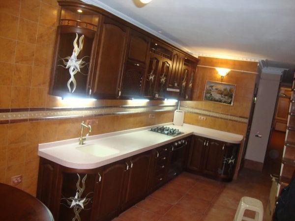 Фальш-витражи на кухонных фасадах