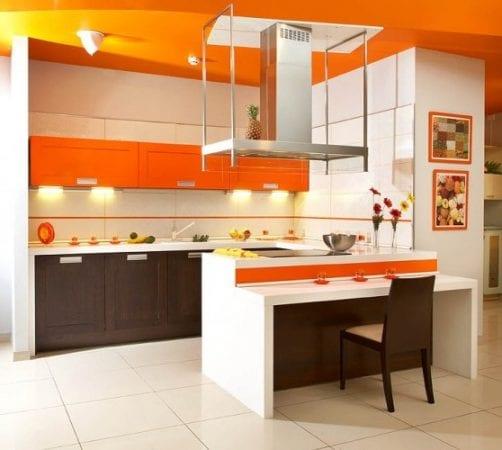 Оранжевый потолок - на любителя