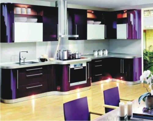 Кухня цвета металлик – как на фото в дизайнерских журналах
