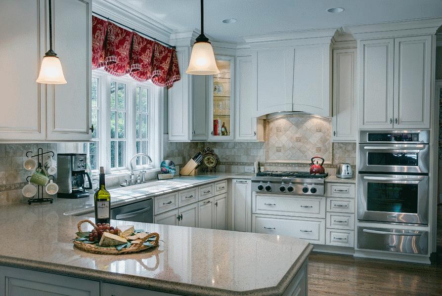 кухня в стиле прованс фото готовых дизайн проектов прованские