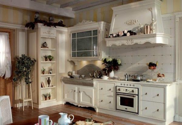 Как применить элементы в стиле прованс на кухне