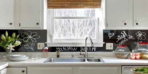 Кухонный фартук из оргстекла
