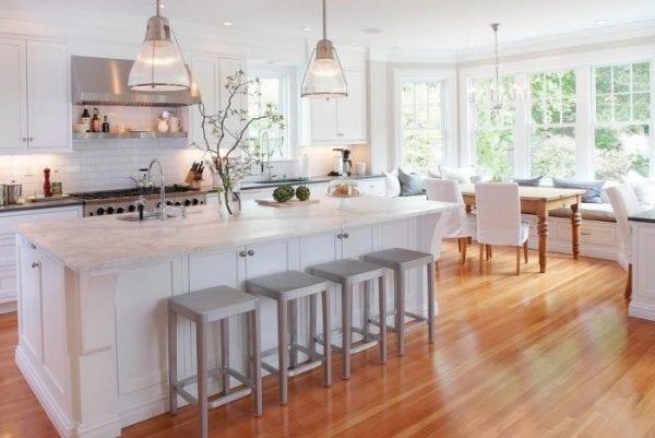 Интерьер кухни в американском стиле