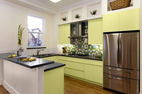 Цветовое решение в дизайне кухни