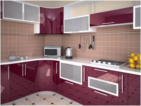 Фасады из акрила для кухни
