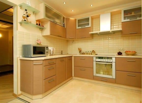 кухня из ламинированного МДФ