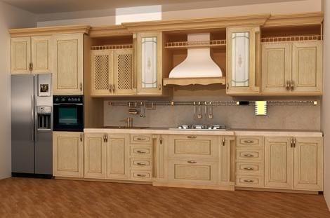 Филенчатые фасады для кухни