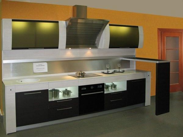 Эргономичная комбинированная кухня