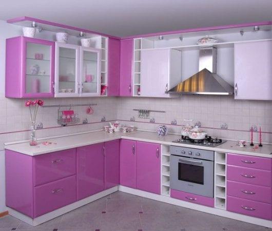 Пленочные кухонные фасады из МДФ