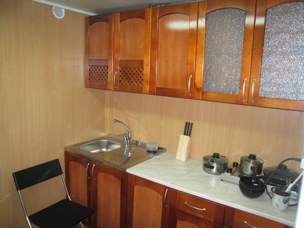 Отделка кухни панелями ПВХ