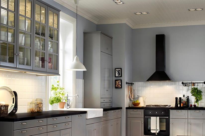 кухонный гарнитур икеа создайте кухню мечты с любыми дверцами и