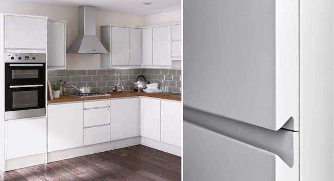 ручки для кухонной мебели украшение фасадов гарнитура фото