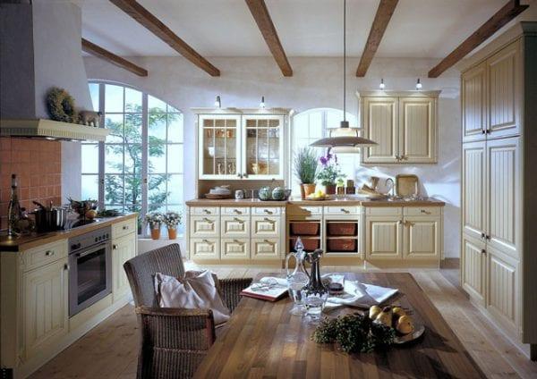 Палитра оформления кухни в стиле прованс
