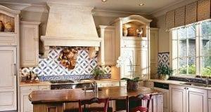 Дизайн и оформление кухни Прованс