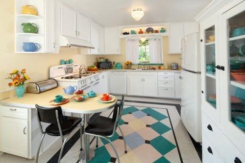 Кухня в стиле 40-х годов
