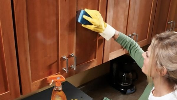 Как отмыть кухонный гарнитур