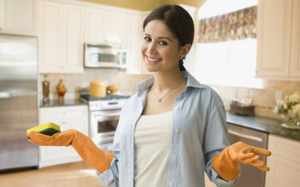 Как отмыть пластиковую кухню