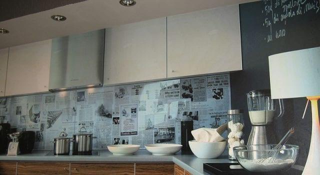 Стандартные размеры фартука на кухне