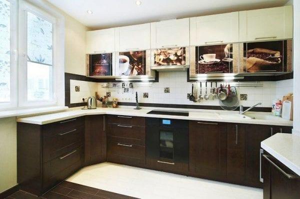 Самоклеющаяся пленка для кухни – бюджетный способ обновить фасады