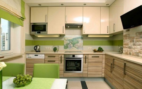 Интерьер кухни в экологичном стиле