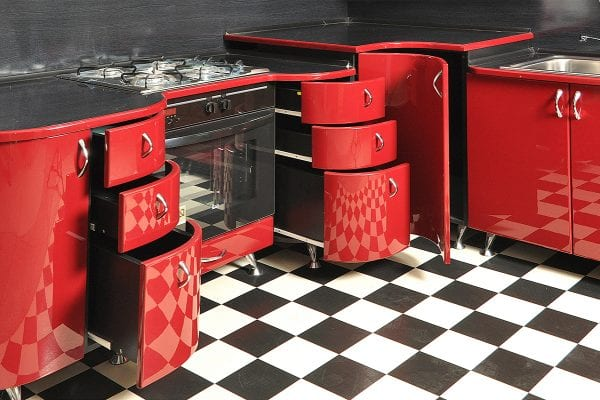 Гнутые фасады для мебели