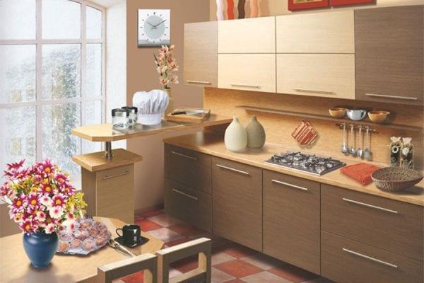 Кухонные ламинированные фасады