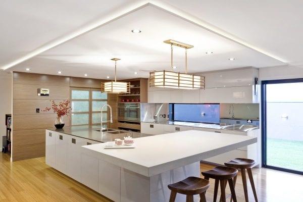Современный вариант японского стиля в обустройстве кухни