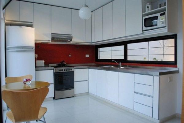Кухня г-образная фото