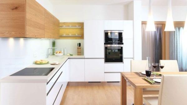 Л образная кухня