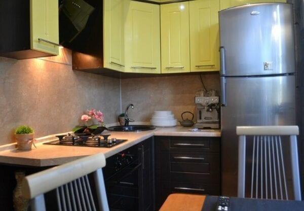 Маленькая кухня реальные фото