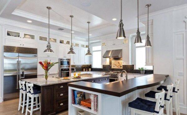 Кухня-остров грамотная планировка фото