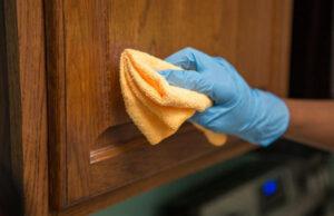 Чем отмыть кухонный гарнитур из мдф