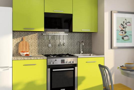 Как правильно выбрать кухонный гарнитур для маленькой кухни