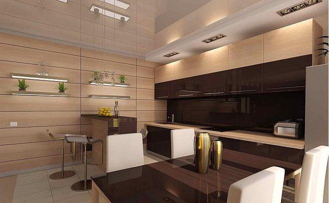 МДФ-панели для стен кухни