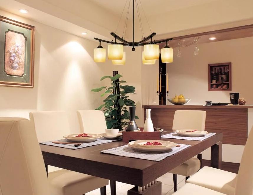 освещения на кухне над столом