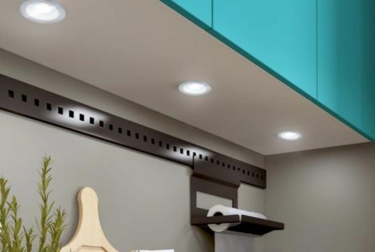 Варианты современного освещения на кухне