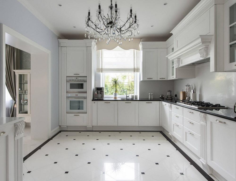пол в кухне
